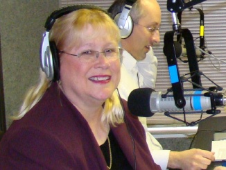 Patty on Talk Radio